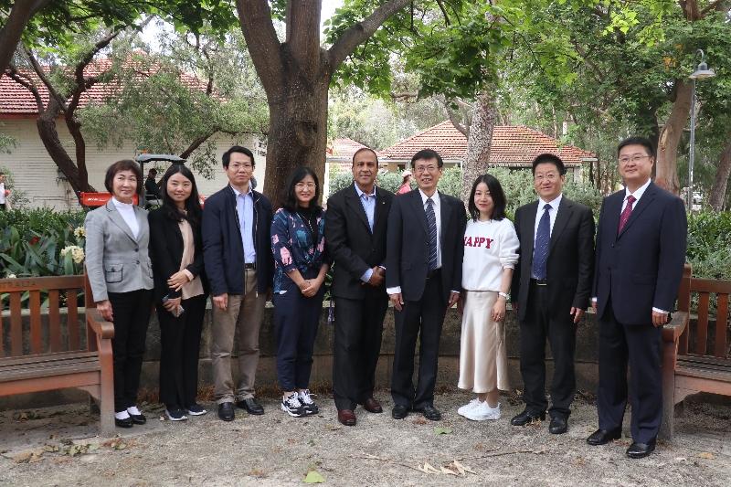省科技情报所组团赴西澳大学农业研究院开展国际交流访问