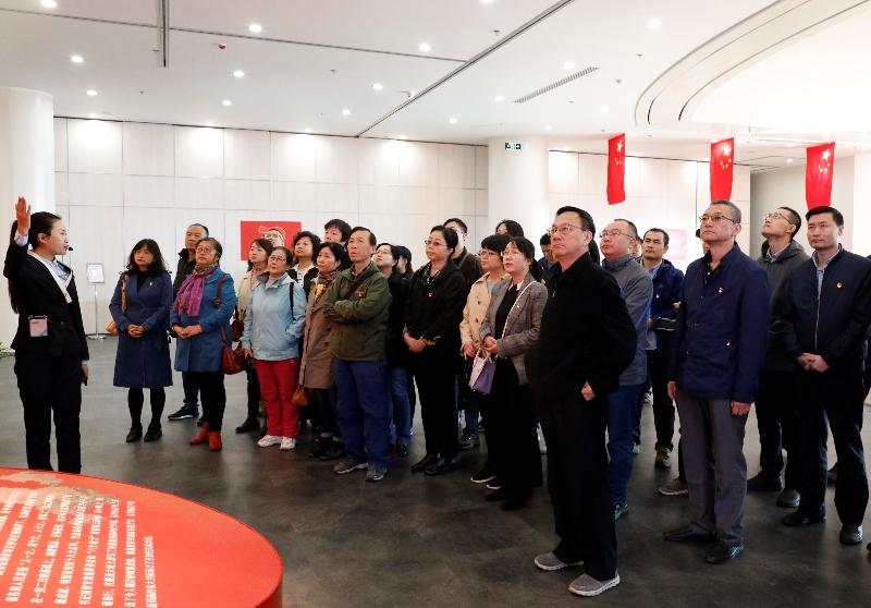 省情报所组织参观甘肃省庆祝中华人民共和国成立70周年主题展览02